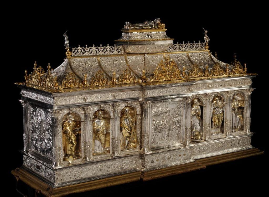Châsse de sainte Begge à Andenne
