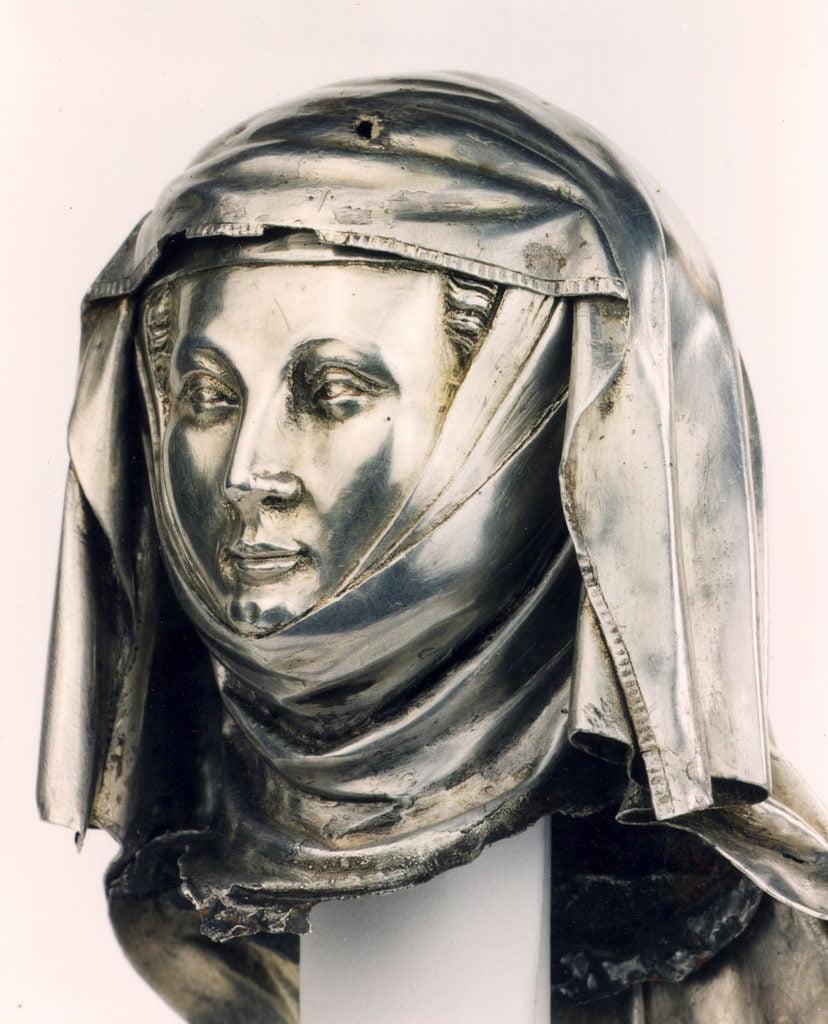 Détail de la châsse de sainte Gertrude_Nivelles