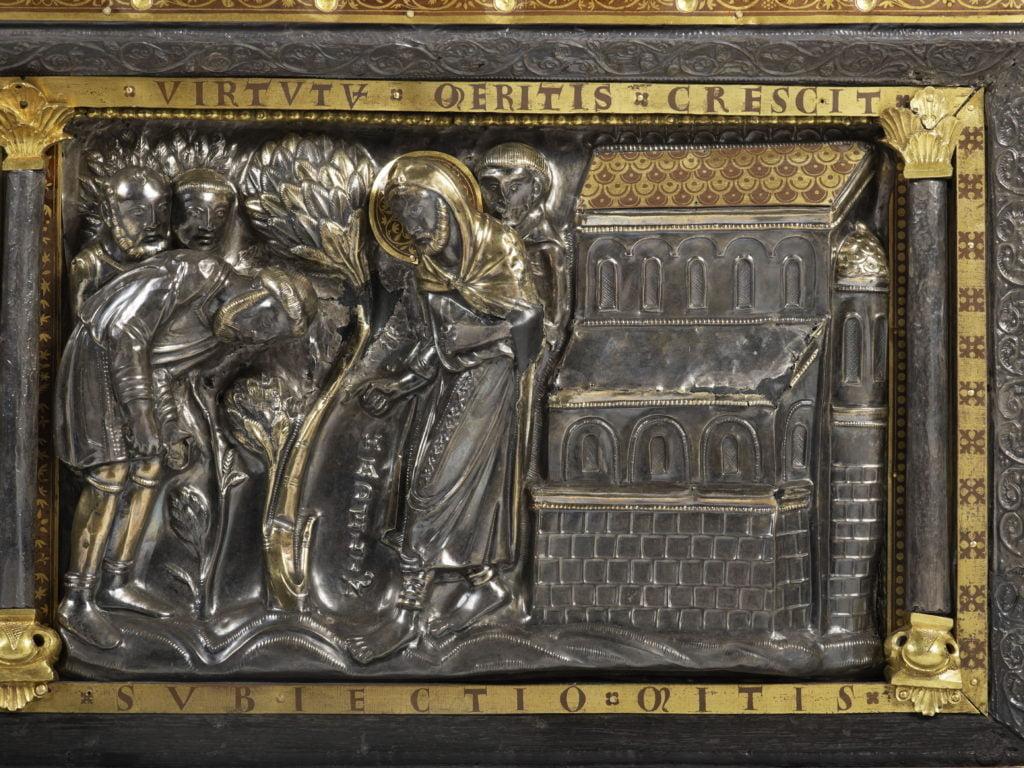 Châsse de saint Hadelin, Collégiale Saint-Martin-et-Saint-Hadelin de Visé